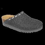 Scholl chaussons mules Elodie  gris foncé