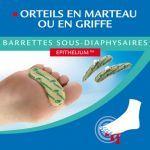 Barrettes Sous Diaphysaires pour Orteil en Marteau ou en Griffe Taille S moins cher| Epitact