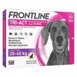 Frontline Tri-Act chiens 20-40kg 6 pipettes
