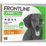 Frontline Combo Spot On Chien S 2-10 kg 4 pipettes