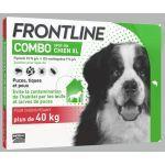 Frontline Combo Spot On Chien XL plus de 40 kg 4 pipettes