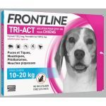 Frontline Tri-Act chiens 10-20kg 3 pipettes