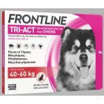 Frontline Tri-Act chiens 40-60kg 6 pipettes