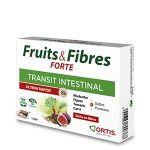 Ortis Fruits et Fibres Action Rapide 8 heures 12 cubes à Mâcher