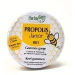 Herbalgem Propolis Bio Junior Gommes Gorge Cassis 45g