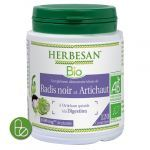 Herbesan Bio Radis Noir et Artichaut 120 comprimés