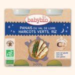 Babybio Petits Pots Bonne Nuit Panais, Haricots Verts, Riz 2X200g