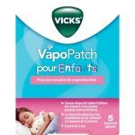 VapoPatch pour enfants - 5 patchs moins cher  Vicks