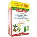 Super Diet Quatuor Circulation Bio ampoules 3 semaines + 1 semaine OFFERTE