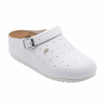 Scholl Clog Sophy gamme professionnelle -blanc
