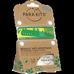 Para'kito Bracelet Anti-moustique Kids Vert Crocodile