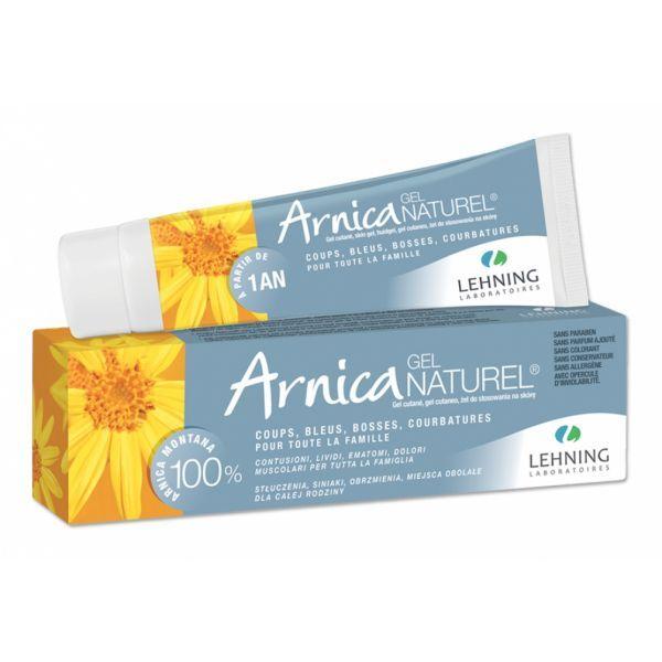 Arnica Gel Naturel 50g moins cher  Lehning
