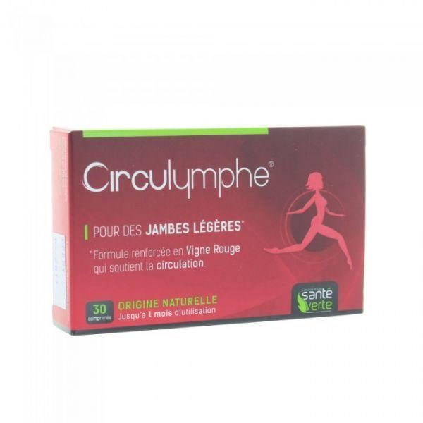Circulymphe boîte de 30 comprimés. moins cher| Santé Verte