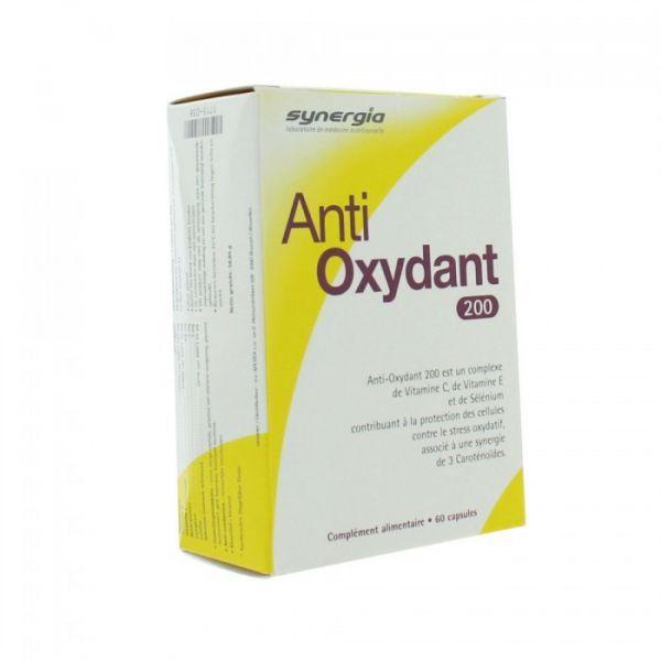 Anti-Oxydant 200 60 Capsules à prix discount| Synergia