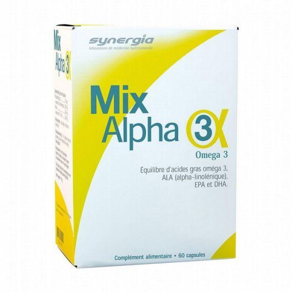 Mix Alpha3 60 Capsules à prix discount| Synergia
