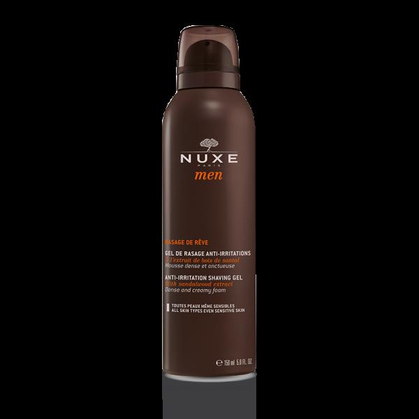 Men Gel de rasage anti-irritations, mousse dense et onctueuse  150ml moins cher  Nuxe