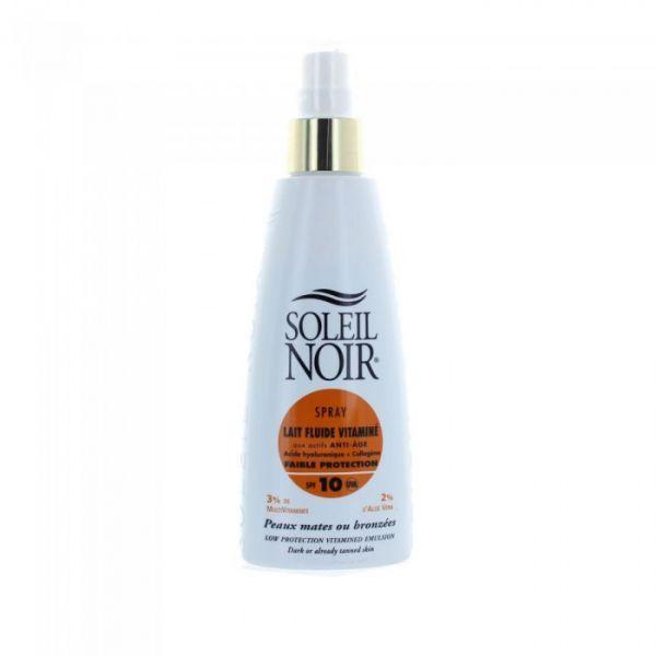 Spray Lait Fluide Vitaminé Faible Protection IP10 150ml à prix discount| soleil noir