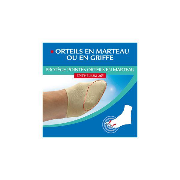 Protège-Pointes orteils en marteau  36/38 à prix bas| Epitact