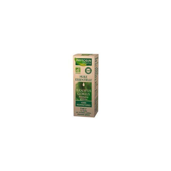 Huile Essentielle Bio Eucalyptus Globulus à prix bas| Phytosun