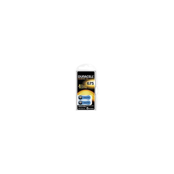 Achetez Duracell Piles Auditives N°675 x6  moins cher