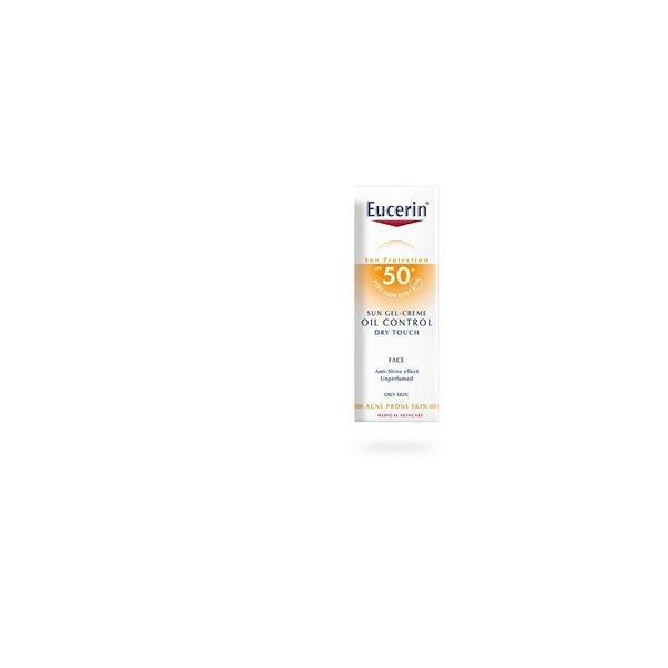 Sun Gel-crème Toucher Sec 50+ 50ml moins cher  Eucerin