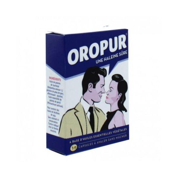 OROPUR HALEINE SURE 50 CAPSULES