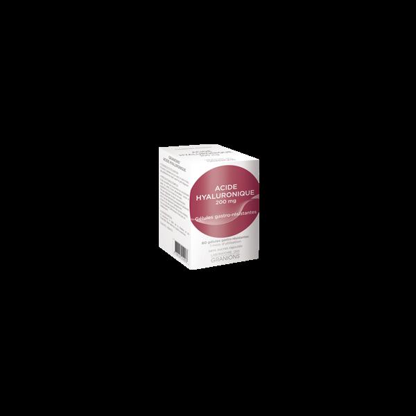 Acide Hyaluronique 60 gélules au meilleur prix| Laboratoire des Granions