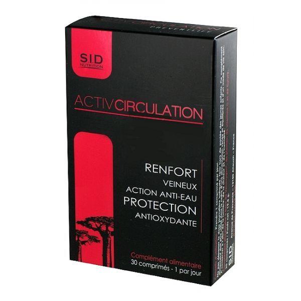 Activ Circulation Preventlife - 30 comprimés au meilleur prix| SID Nutrition