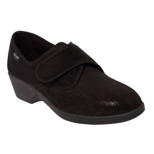 Scholl chaussons fermés Agnes rei noir