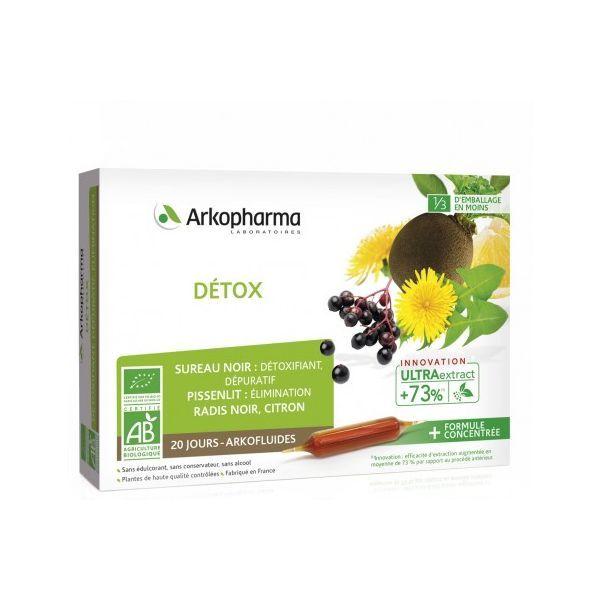 Achetez Arkofluide Bio aux plantes Détox