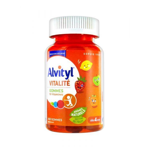 Achetez au meilleur prix les gommes multivitamines Alvityl