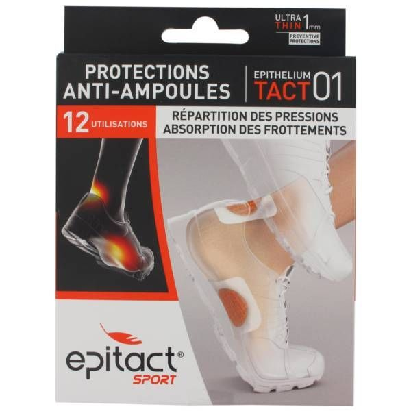 Sport Protections anti-ampoules 12 utilisations moins cher| Epitact