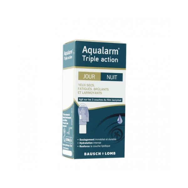 Aqualarm Triple Action 10ml de Bausch et Lomb