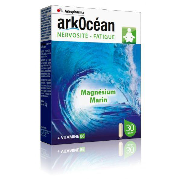 gnésium Marin Nervosité-Fatigue 30 Capsules à prix bas| Arkopharma