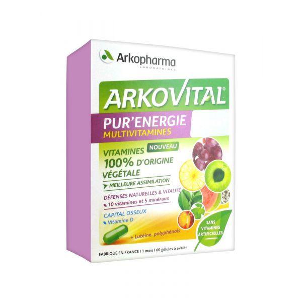 Achetez au meilleur prix les vitamines de Arkovital Pur'Energie