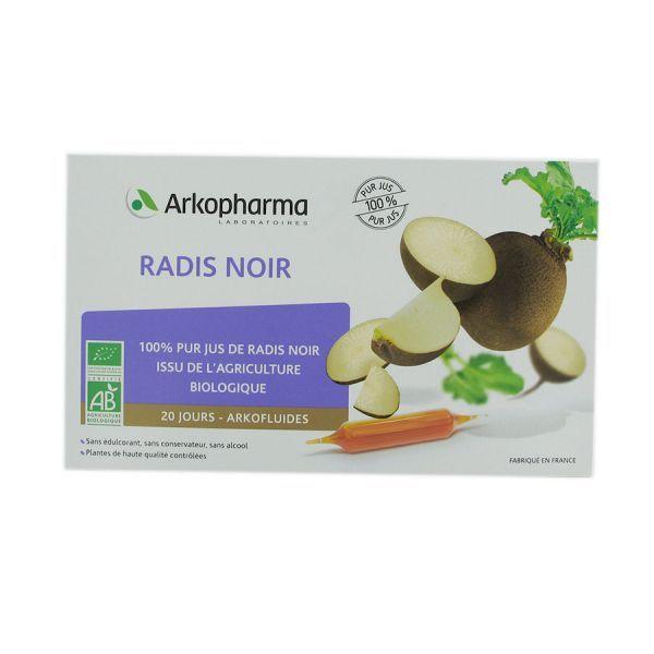 Radisnoir 20 jourarkofluides à prix discount| Arkopharma