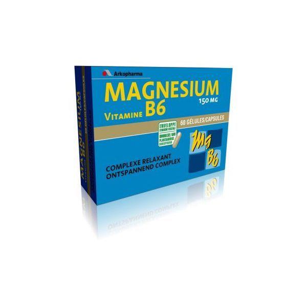 Arkovital Magnésium Vitamine B6 à prix discount  Arkopharma