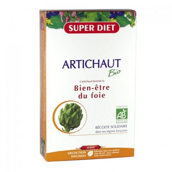 Artichaut Bio 20 Ampoules à prix discount| Super Diet