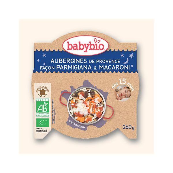 Achetez au meilleur prix l'assiette Bonne Nuit Aubergine de Provence façon Parmigiana
