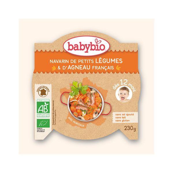 Achetez à prix discount l'Assiette de Navarin pour bébé de Babybio