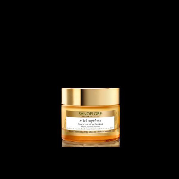 Miel Suprême Baume Nutritif Sublimateur 50ml au meilleur prix| Sanoflore