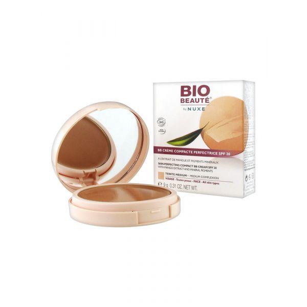 BB Crème Compacte Perfectrice SPF 20 Dorée 9g à prix discount  Bio Beauté by Nuxe