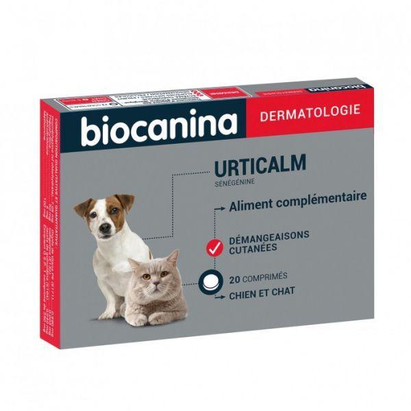 Dermatologie Urticalm Chien et Chat 20 comprimés. à prix bas| Biocanina
