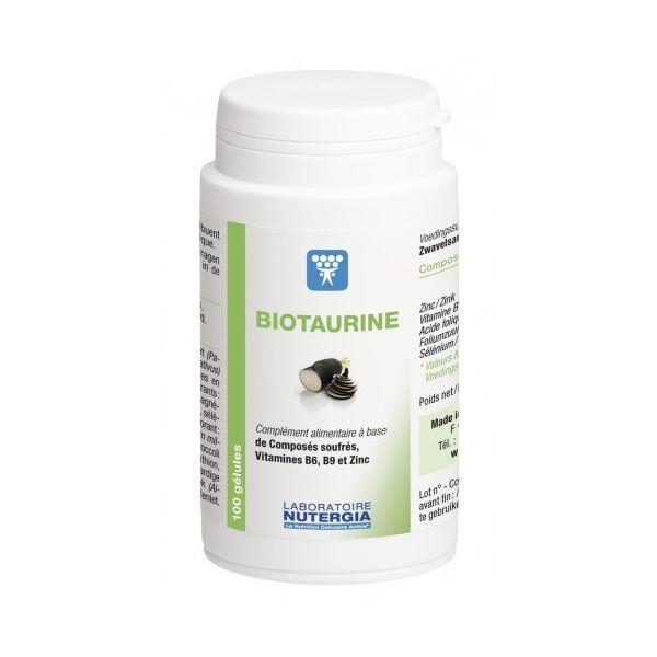 NUTERGIA BIOTAURINE DETOXINATION CELLULAIRE 100 GELULES