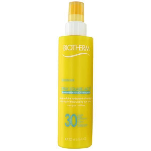 Solaire Spray Lacté Hydratant  SPF30 200ml à prix discount  Biotherm