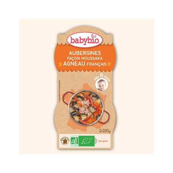Achetez au meilleur prix le Bol d'Aubergine Façon Moussaka pour bébé