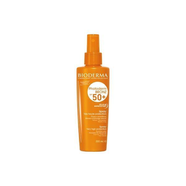 Photoderm Bronz SPF50+ Spray 200ml au meilleur prix| Bioderma