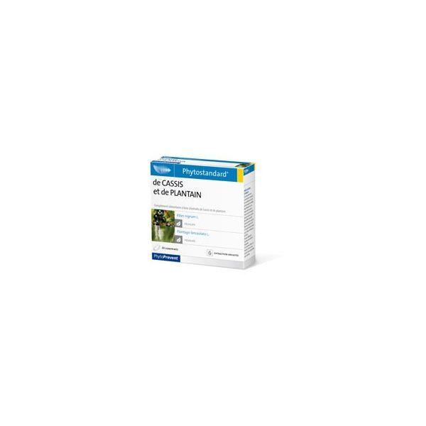 Phytostandard de Cassis et Plantain PhytoPrevent 30 comprimés