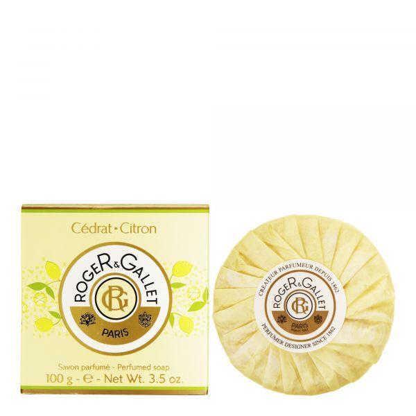 Cédrat Savon parfumé 100 gr Boîte Carton  au meilleur prix  Roger&Gallet
