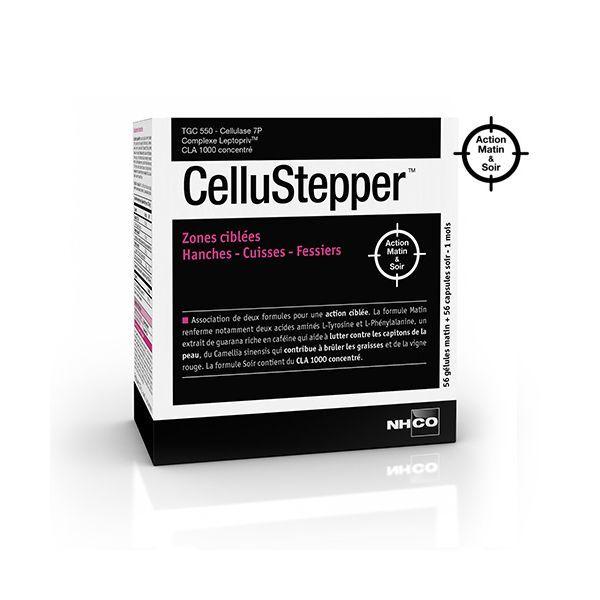 CelluStepper Cellulite Zones Ciblées 2x56 gélules au meilleur prix  NH-CO